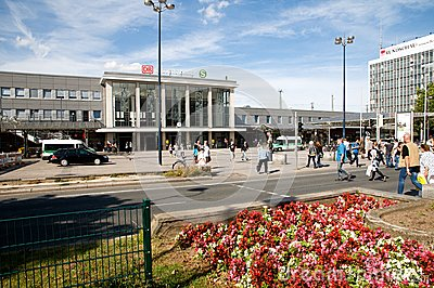Dortmund - Central station Editorial Stock Photo