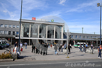 Dortmund - Central station Editorial Stock Image