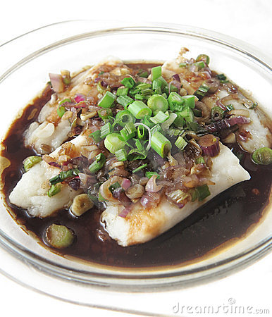 Dory Fish Cutlet served in Black Sauce Gravy