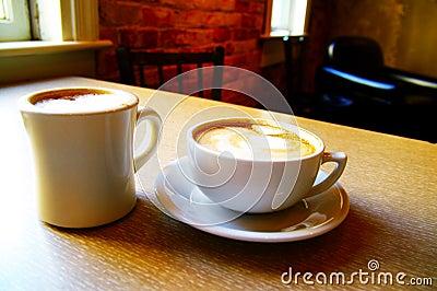 Dos cafés