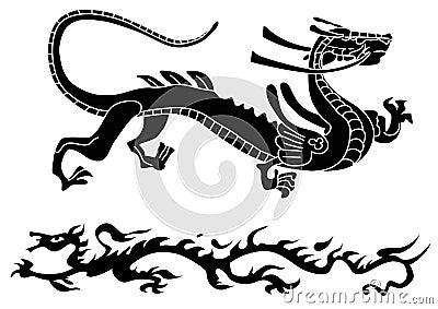 Dos dragones antiguos
