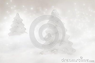 Dos árboles de navidad