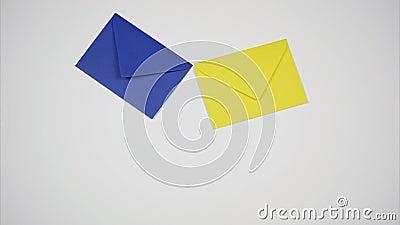 Dos sobres vuelan como un pájaro reparto del correo Pare el movimiento metrajes