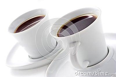 Dos tazas de café