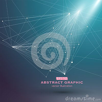Free Dot And Line Consisting Of Abstract Graphics,Set Point Line. Royalty Free Stock Photography - 112538857