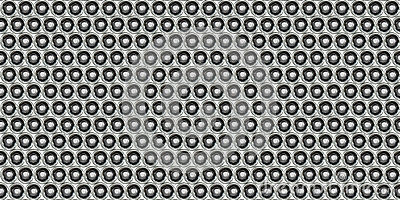 Dot Metal Plate - Seamless Background