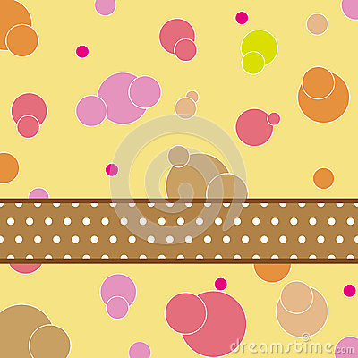 Dot pattern card design