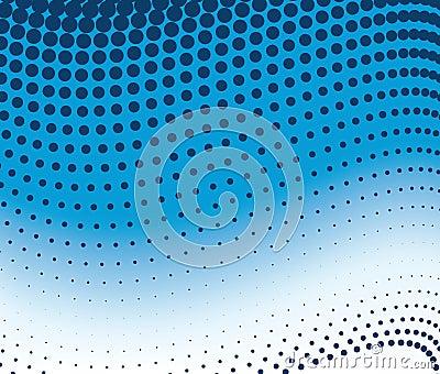 Dot pattern gradient