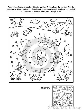 Free Dot-to-dot And Coloring Page With 3 Easter Eggs Royalty Free Stock Images - 88631759