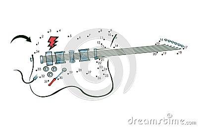 Dot to dot guitar