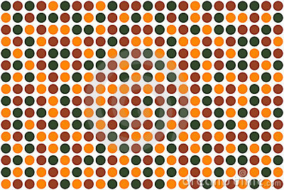Dots, autumn  colors