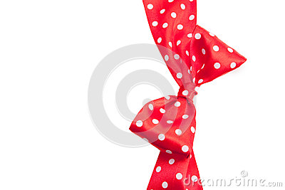 Dotted red ribbon