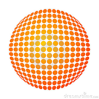 Dotted sun
