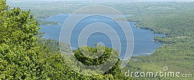Dotyka honeoye jeziora