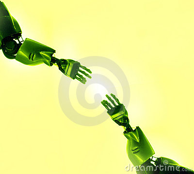 Dotyka robotów target249_1_