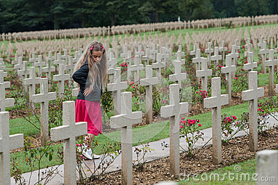 Douaumont Ossuaire Memorial Editorial Photo