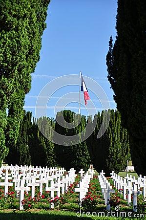 Ossuaire de Douaumont at Verdun, France