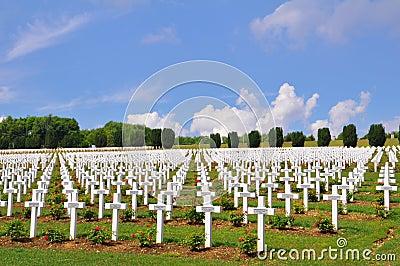 Ossuaire de Douaumont at Verdun, France Editorial Stock Photo
