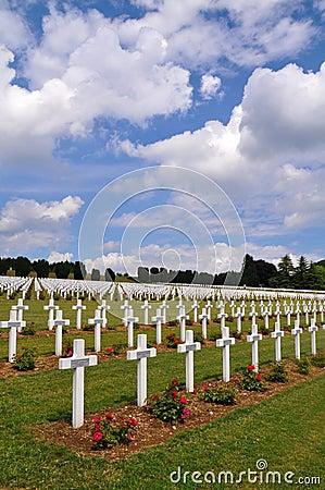 Ossuaire de Douaumont at Verdun, France Editorial Image