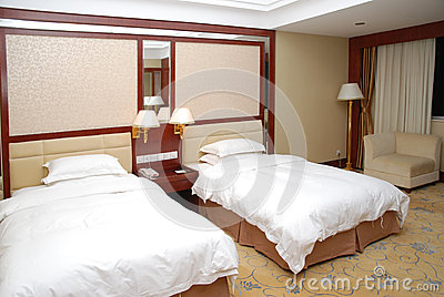 Double bedroom interior