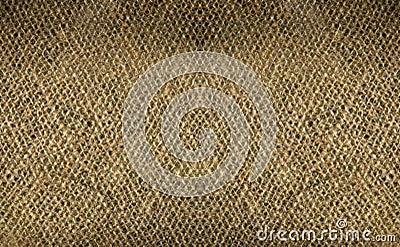 Double burlap weave detail