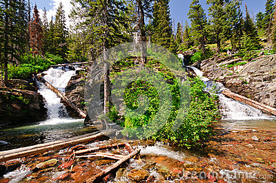 Double Cascades in the Americna Wesy