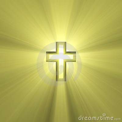 Double Cross Sign Holy Light Flare Royalty Free Stock Photos - Image: 2903208