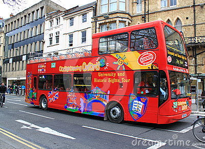 Double Deck Bus Editorial Stock Photo
