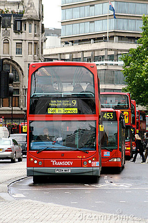 Double decker Editorial Stock Photo