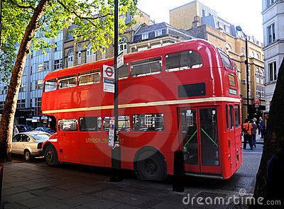 Double Decker Bus Editorial Stock Photo
