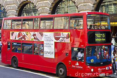 Double decker bus Editorial Image