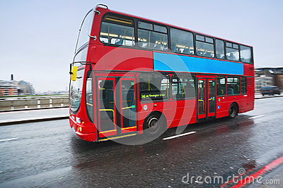 Double decker bus in London