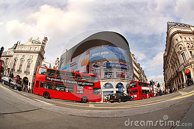 Double decker in London, England Editorial Photo