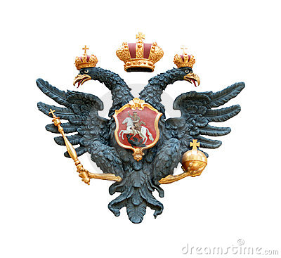 Free Double Eagle With Scepter And Orb Stock Image - 5986531