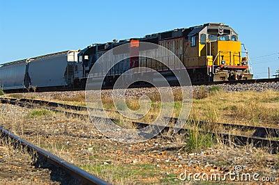 Double Engine Locomotive - Train