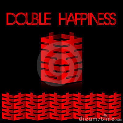 Double happiness- wedding