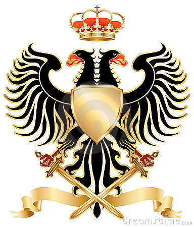 Double-headed eagle color