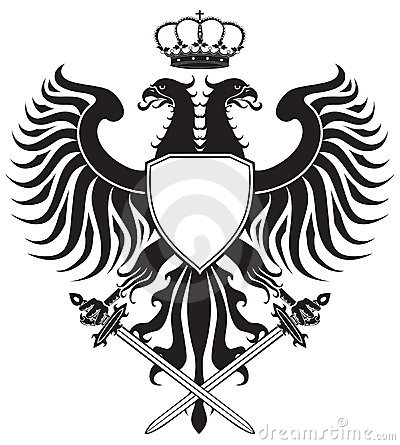 Free Double-headed Eagle With Crown And Swords Royalty Free Stock Photo - 14252185