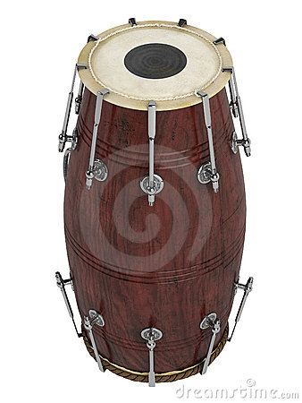 Double-headed hand-drum