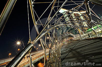 The Double-Helix Bridge, Singapore