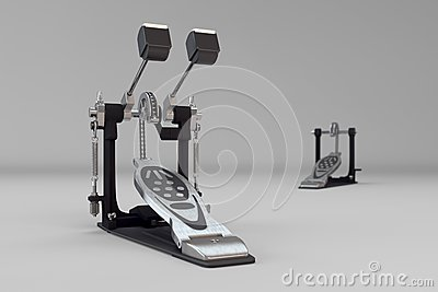 Double kick pedals