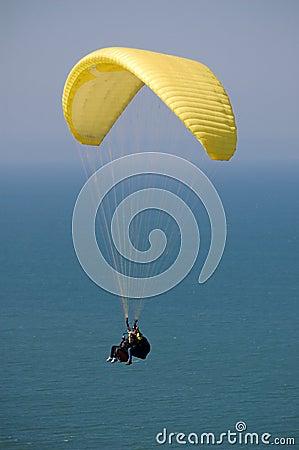 Double Paragliding