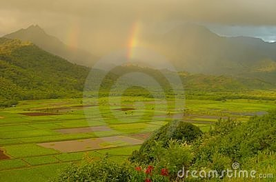 Double Rainbows, Hanalei Valley