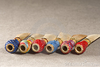 Double reed of bassoon