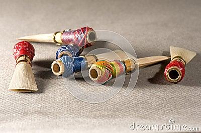 Double reed of bassoon