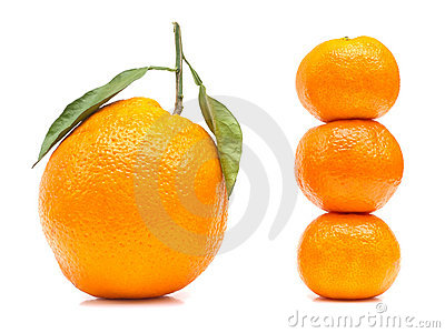 Double Size Orange