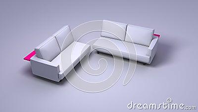 Double sofas