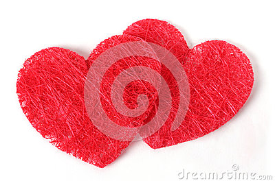 Double texture heart
