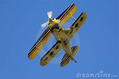 Double Wing Airplane Stock Images Image 1624204