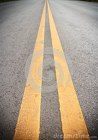 Free Double Yellow Lines Stock Images - 56433614